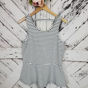 Maurices Striped Tank Top L